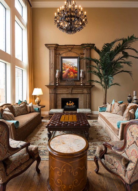 Casual Elegant Living Room: Casual Elegance In Plano, TX