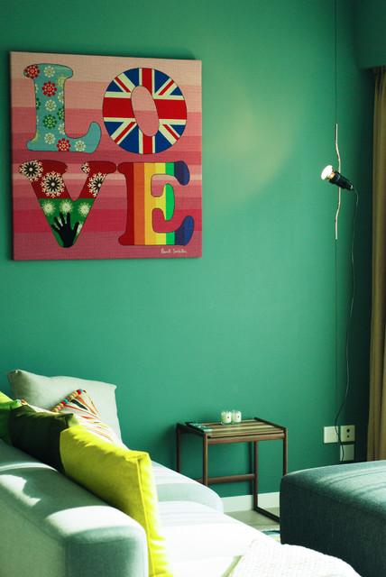 Megan modern living room hong kong by hoo interior design styling - Hoo showroom ...