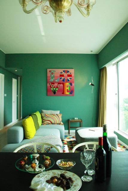 MEGAN modern-living-room