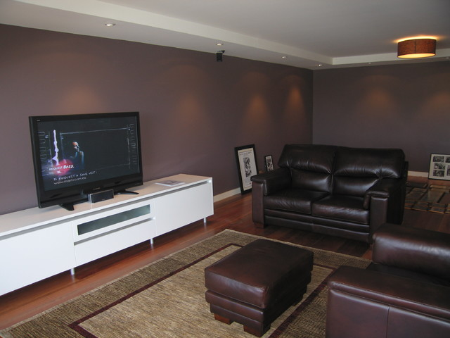 Melissa Treadgold Architect modern-living-room