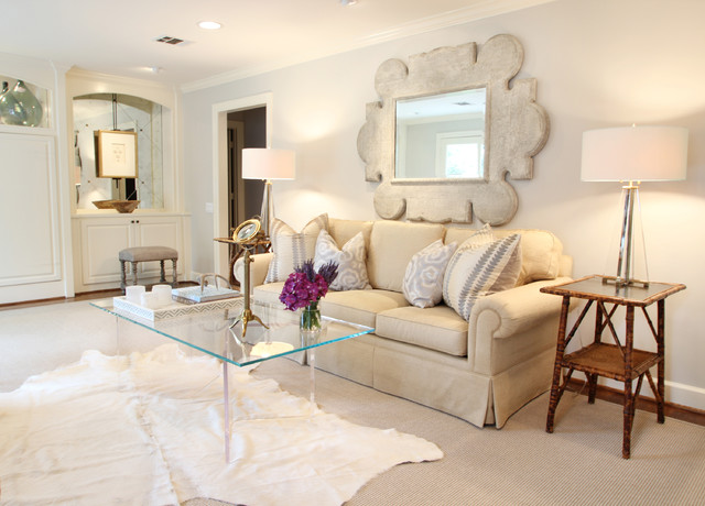 Inspiration For A Timeless Living Room Remodel In Houston With Beige Walls Part 41