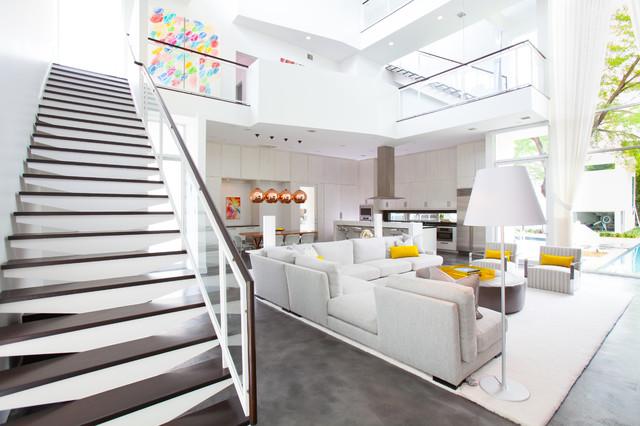 Memorial Park Modern contemporary-living-room