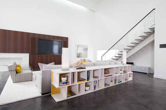 Storage Behind Sofa Houzz