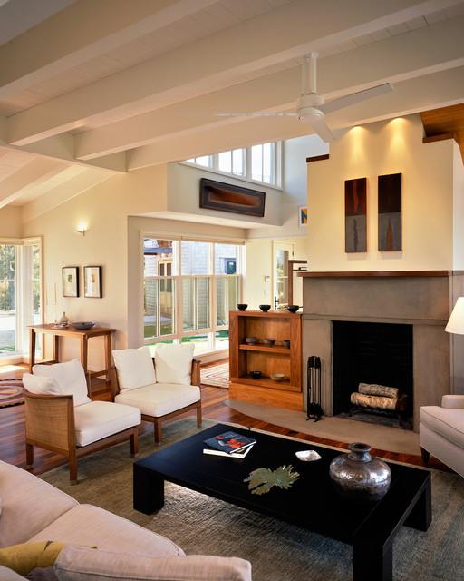 Menemsha beach-style-living-room