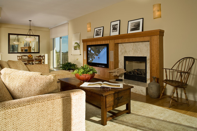 Menlo Park High Rise traditional-living-room