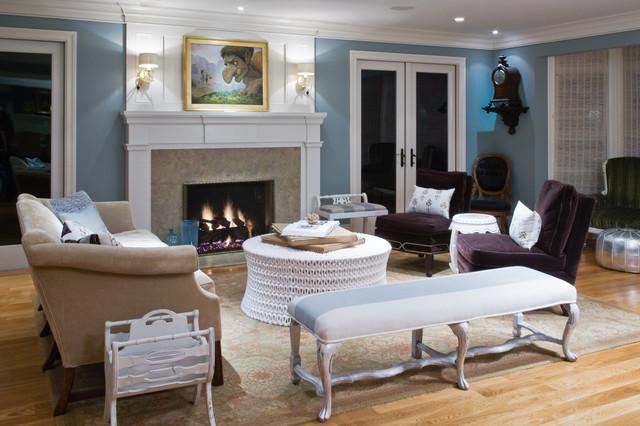 Menlo Park Home traditional-living-room