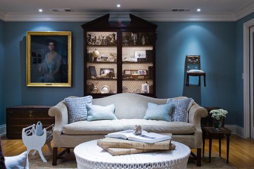 限りなく部屋に溶け込むブルー。「ブルー」をベースにしたインテリア事例4選 5番目の画像