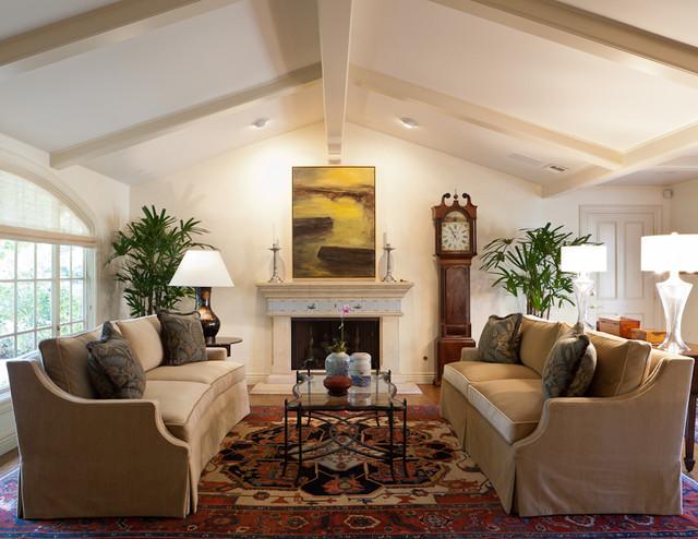 MENLO PARK MAKE OVER traditional-living-room