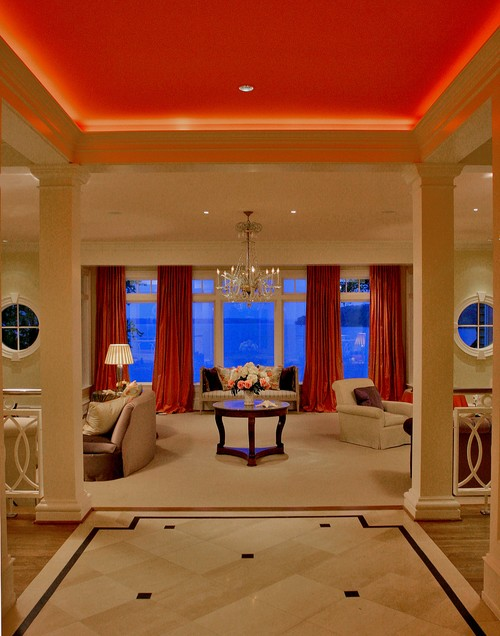 Mercer House traditional living room