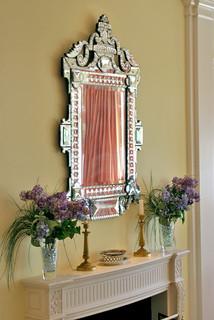 espejos con cristales y elegante