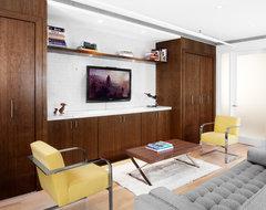 Bolkcom Residence modern-living-room