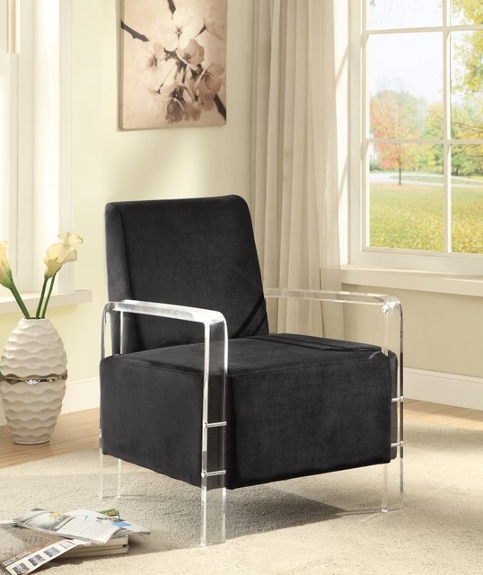 meridian furniture contemporary accent chairs