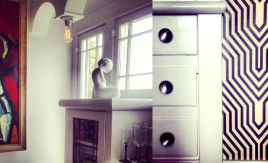 Meridian Terrace eclectic-living-room
