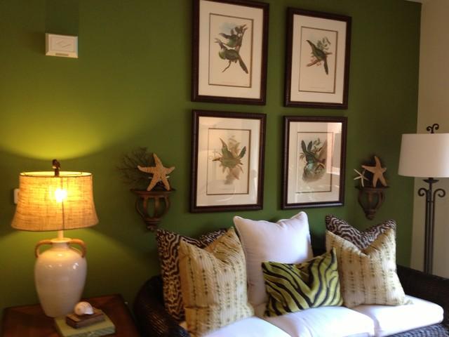 Mesa Management Models eclectic-living-room
