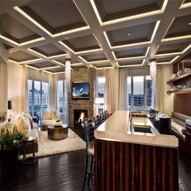Modern Penthouse Design Overlooking The Minneapolis Lakes: Metro Penthouse