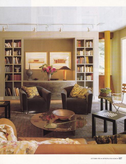 Metropolitan Home 1990 - Contemporary - Living Room - dc ...