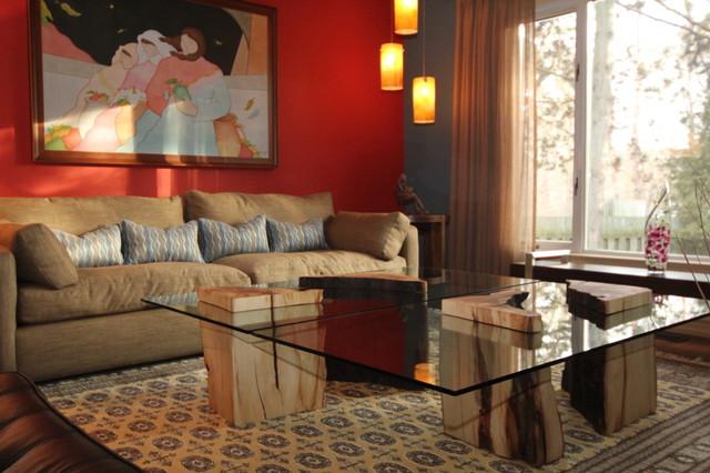 Mexican contemporary living room - Contemporary mexican decor ...