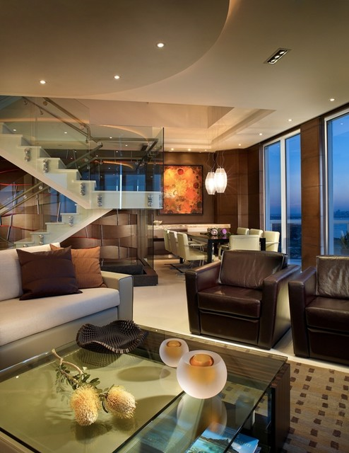 Miami beach apartment by pepecalderindesign miami for Modern beach house living room