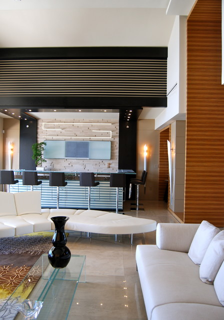 Miami Beach - Miami by PepeCalderinDesign - Interior designers Miami - Modern contemporary-living-room