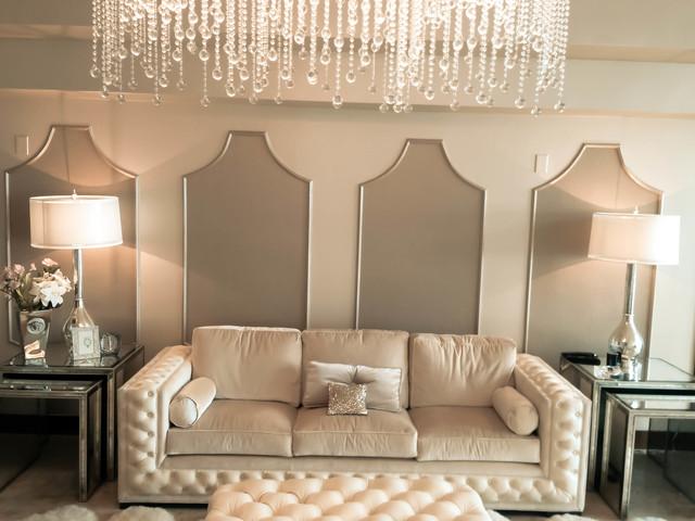Miami Condo contemporary-living-room