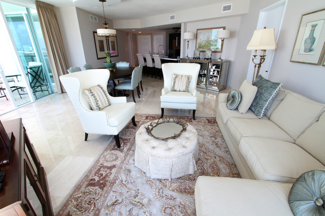 Miami current project contemporary living room miami for Current living room designs