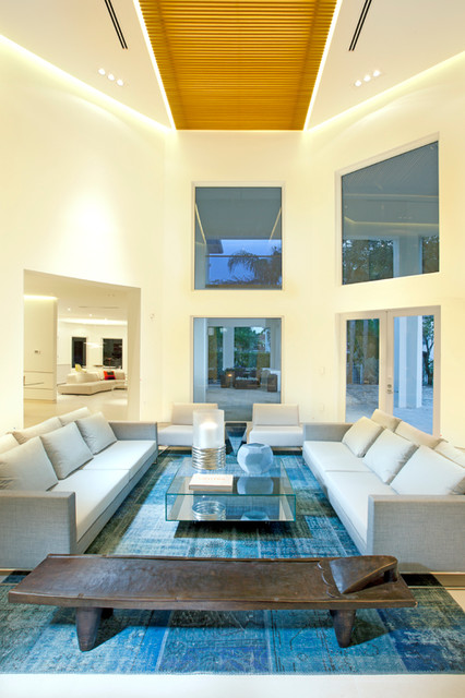 Miami Interior Design - Detailed Minimalism - Modern - Living Room - miami - by DKOR Interiors ...