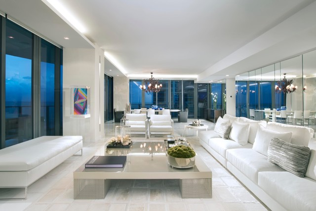 MIAMI INTERIOR DESIGNERS   REGALIA MIAMI Contemporary Living Room
