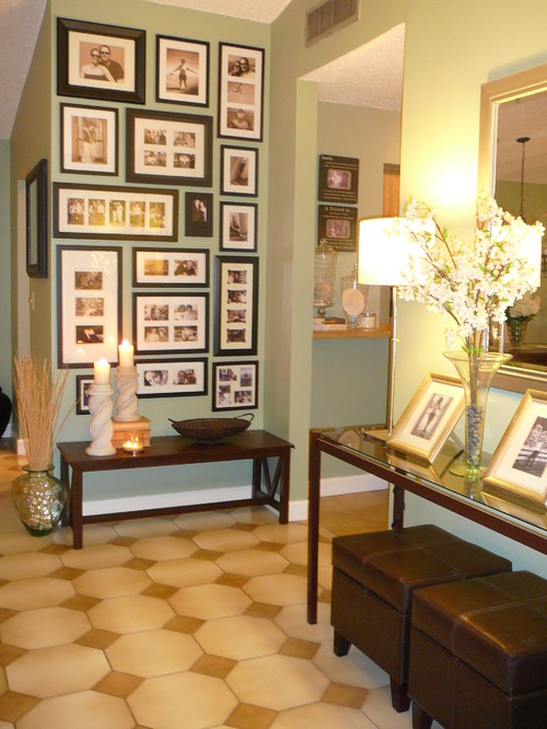 I love the picture wall featured. But where can I buy a good ...
