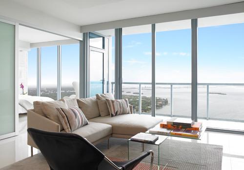 แปลนแบบคอนโดหนึ่งห้องนอน 07 Miami Modern