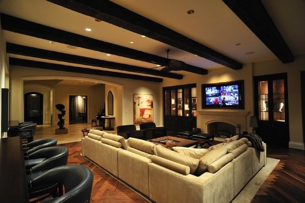 Michael molthan luxury homes interior design group traditional living room dallas by - Luxury house interiors ...
