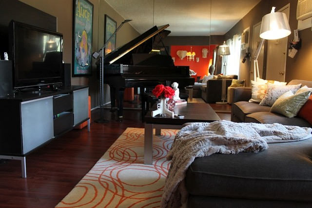 Michelle 39 s houzz modern living room los angeles by for Living room jazz los angeles