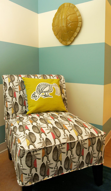 Michelle Thomas Design - Ronald McDonald House Charities eclectic-living-room