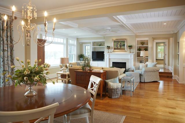 Michigan Lake House Beach Style Living Room Grand Rapids By Villa Decor