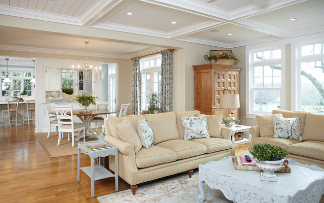 Michigan lake house traditional living room other for Lake house interior designs