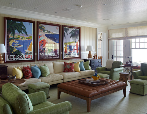 Travel Themed Living Room Ideas