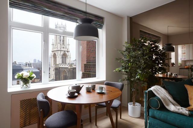 mid century apartment in the city of london midcentury living room