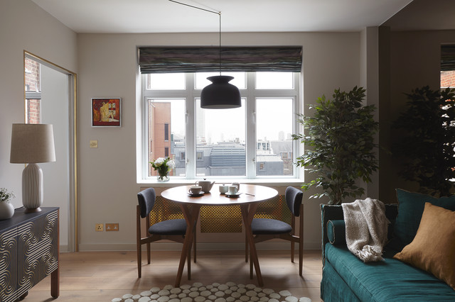 Mid Century Apartment in the City of London - Midcentury - Living ...