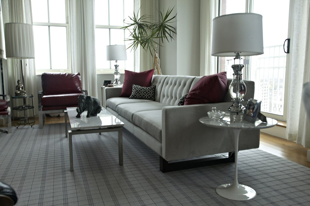 Example of a 1950s living room design in New York