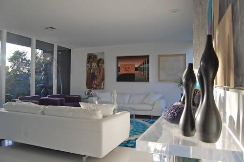 Mid-century living room modern living room