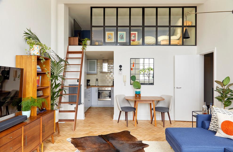 Mid-Century Modern Apartment - Midcentury - Living Room ...