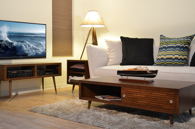 Mid Century Modern Furniture - Mayan Mocha - Modern - Living ...