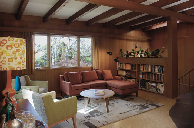 Mid-Century Modern Home - Craftsman - portland - by Craftsman Design and Renovation
