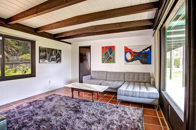 Mid-Century Modern Home midcentury-living-room