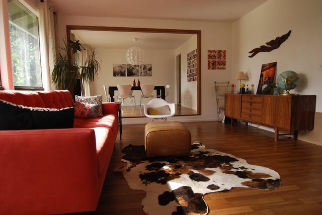 Mid Century Modern Living Room Modern Living Room Portland