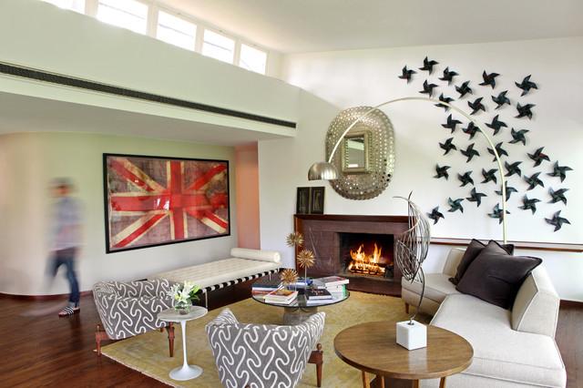 Mid Century Modern Masterpiece - Modern - Living Room - St Louis