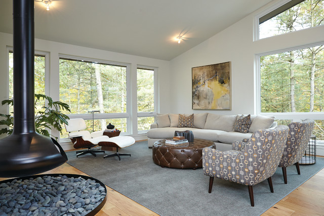 mid century modern midcentury living room grand rapids by new