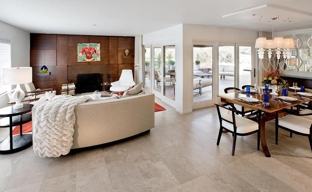 Pittsburgh Mt Lebanon Residence Modern Living Room