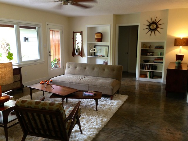 mid century modern remodel midcentury living room tampa by