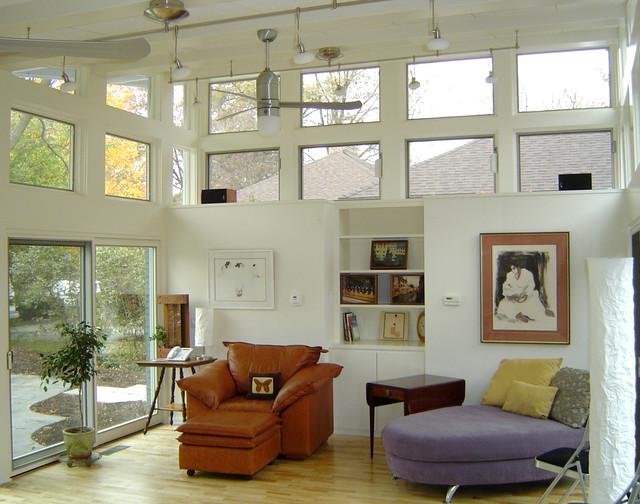 mid century modern renovation midcentury living room columbus