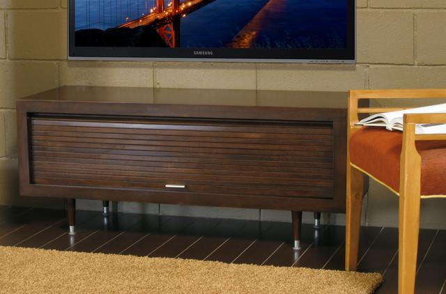 mid century modern tv stand milano mocha modern living room san diego by woodwaves inc. Black Bedroom Furniture Sets. Home Design Ideas